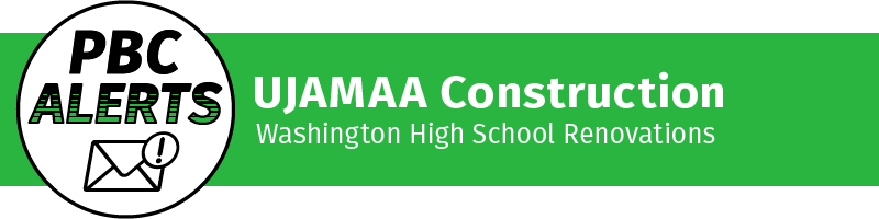 UJAMAA Construction - Washington High School Renovations