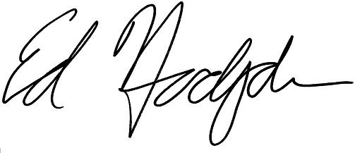 Ed's Signature