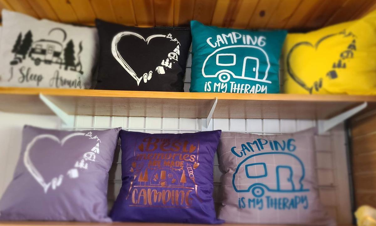 Duck Creek Campground Camp Pillows