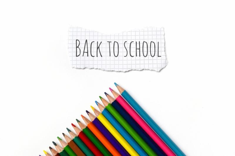 back to school, pencils