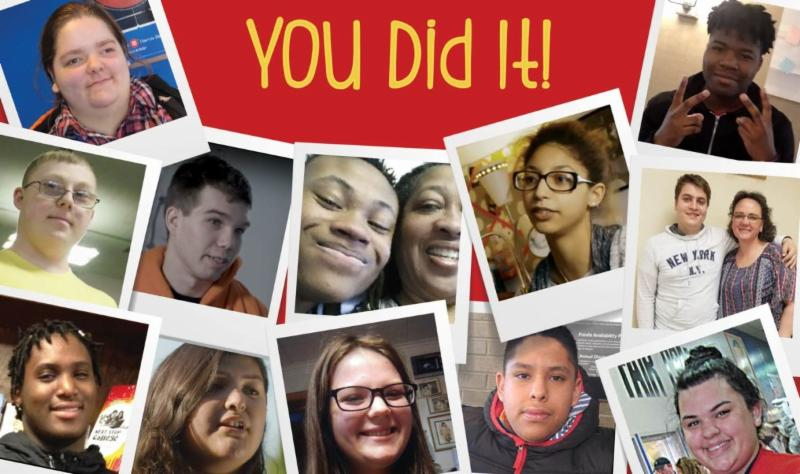 collage of Promise youth pictures