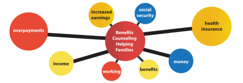 Benefits Counseling Helping Families image