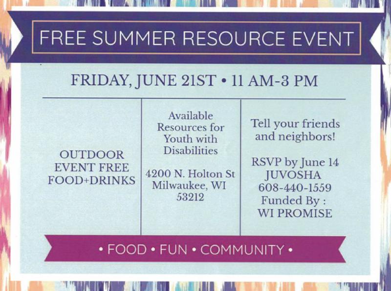 Free Summer Resource Event