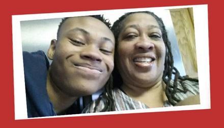 Jonblair and his mom