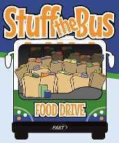 Stuff the bus for the food pantry
