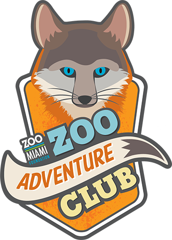 Zoo Miami Zoo Adventure Club Logo