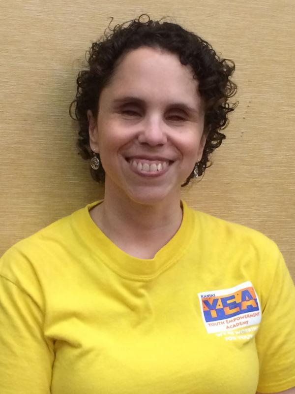 Julia Connellis in KYEA shirt