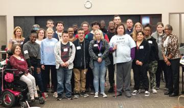 Participants of the Wichita Empower Me workshop gather for a photo