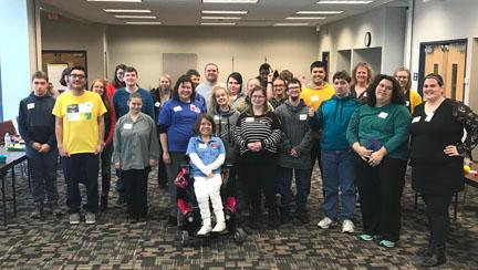 Participants of the Topeka Empower Me workshop take a group photo