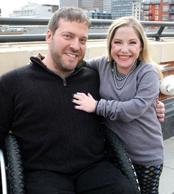 Mallory Cyr and Owen Erquiaga