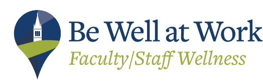 Be Well at Work Faculty and Staff Wellness logo