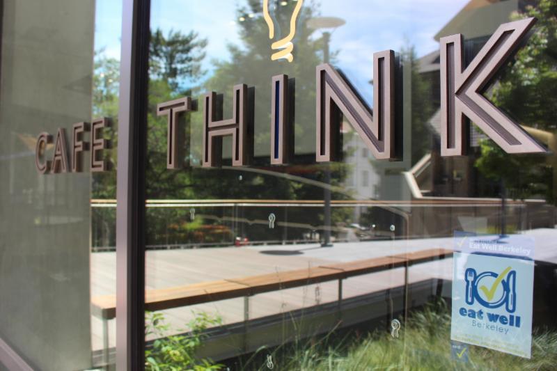 Cafe Think sign