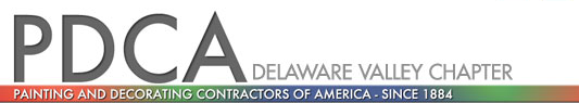 PDCA Delaware Valley Chapter Logo with Tagline