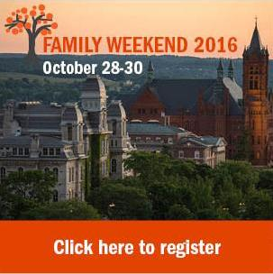 Family Weekend Registration Button