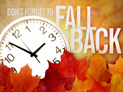 Daylight Savings Nov. 6, 2016