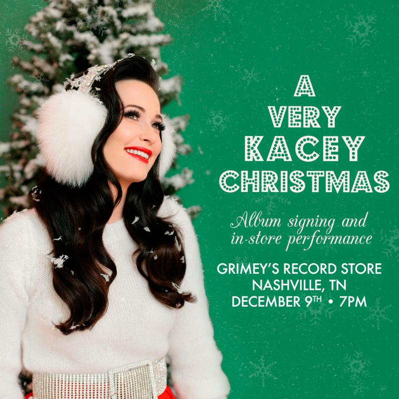 KACEY MUSGRAVES Christmas Performance/Signing at Grimey\'s! - Sat 12 ...
