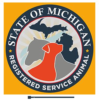 Registered Service Animal patch