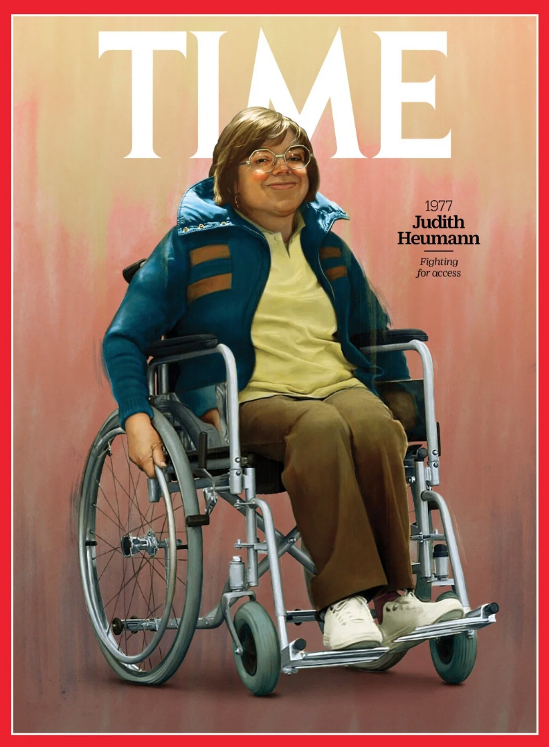 TIME over with Judith Heumann