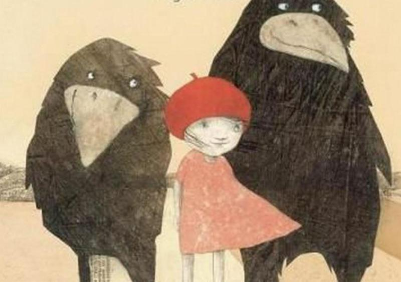 childrens illustration from _Rosie the Raven_