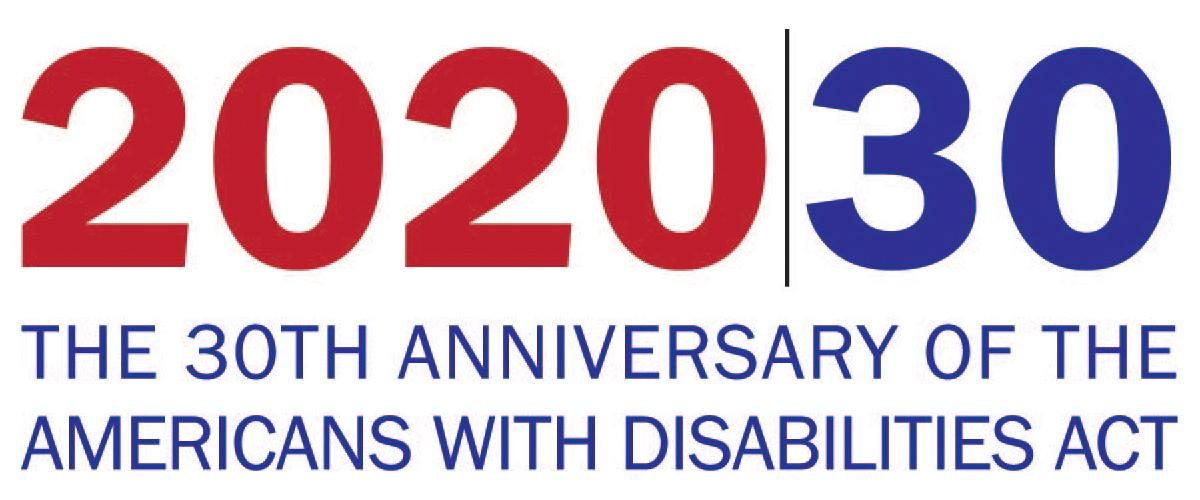 text graphic_ 2020_30 The 30th anniversary of the Americans with Disabilities Act