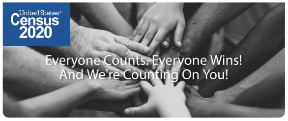 hands in a circle - _Everyone Couts. Everyone Wins_ And We_re Counting on you__