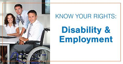 Know your rights_ Disability _ Employment