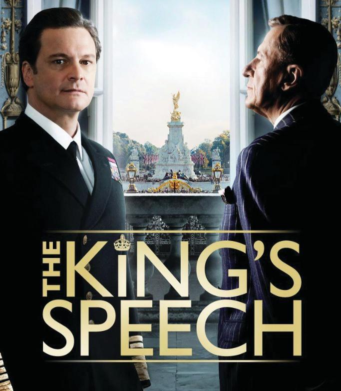 Kings Speech movie jacket