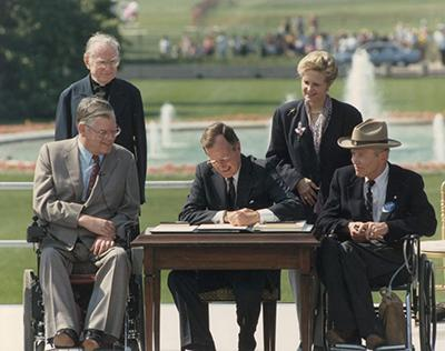 signing of the ADA