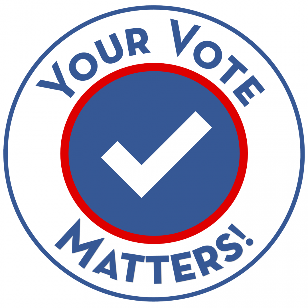 text grapic_ Your Vote Matters