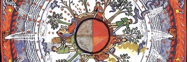 Hildegard von Bingen illustration