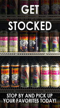 Stop by and pick up the canned brew today!
