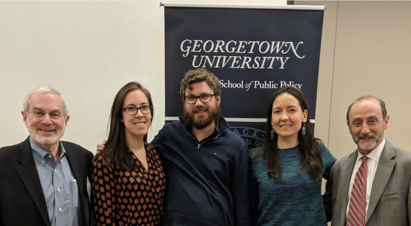 Photo of the JDTC team at Georgetown University Training