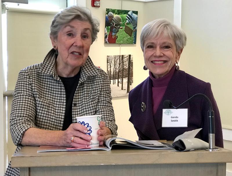 Sylvia Reiss and Gerda Smith