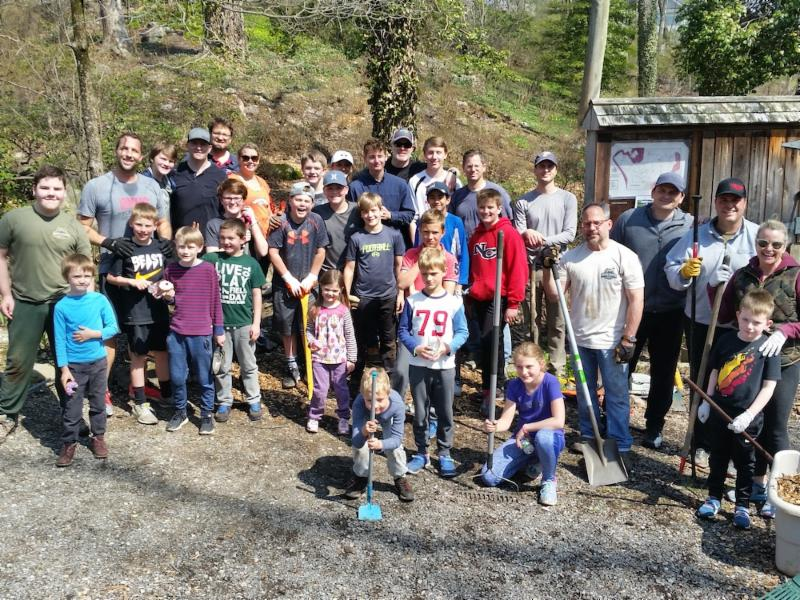 Porter Roddy Eagle Scout project