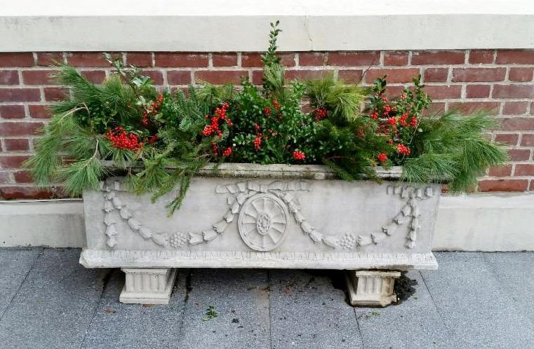 Town Hall planter