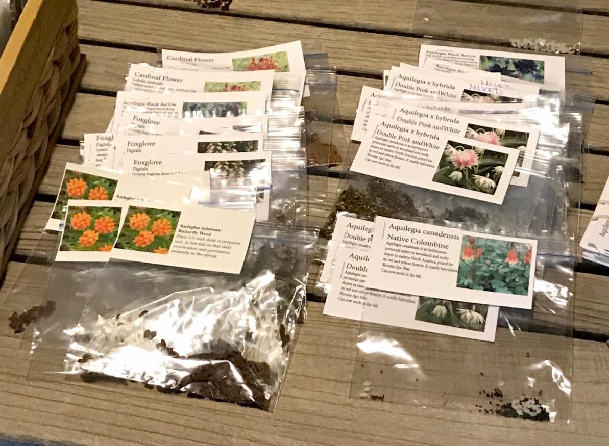 Lee Coffee seed packets