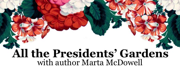 All the Presidents' Gardens header