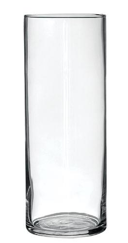 Tall cylindrical vase