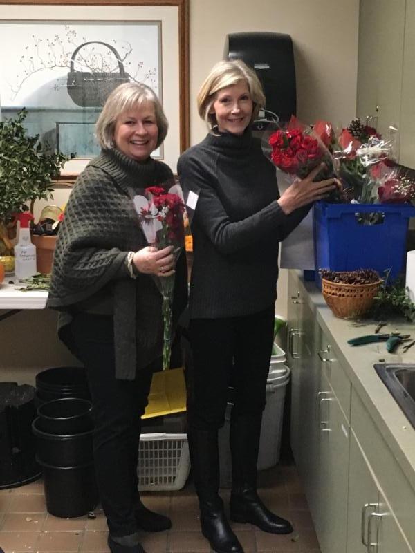 Waveny Flower Arranging December 2016