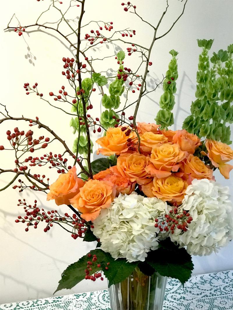 November flower arrangment