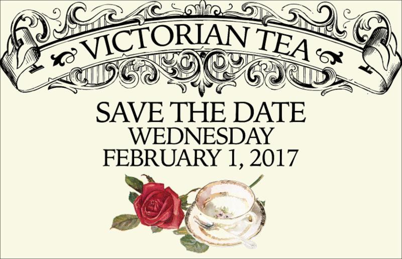 Victorian Tea Save the Date