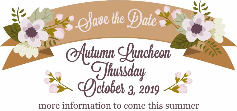 Autumn Luncheon 2019 header
