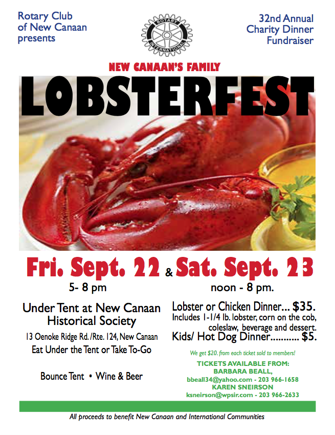 LobsterFest Flier photo