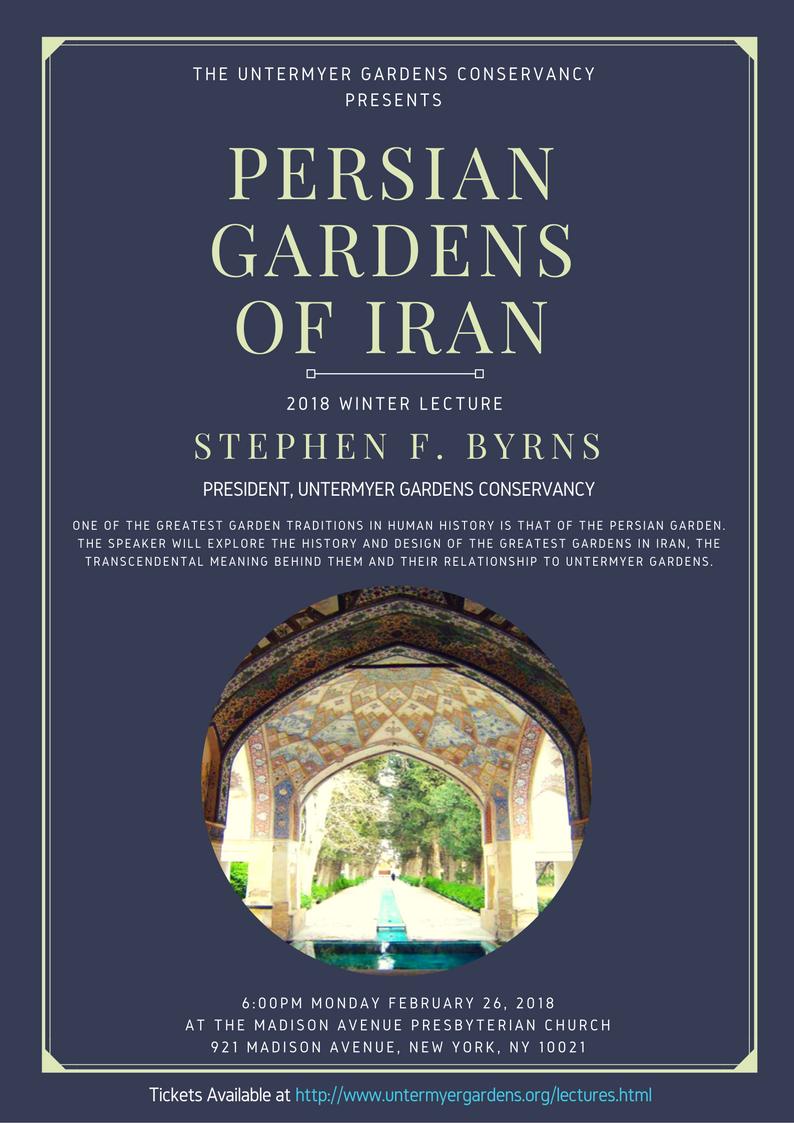 Persian Gardens at Untermeyer