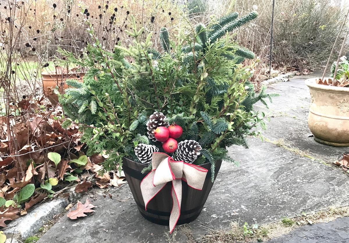 Winter Pot example