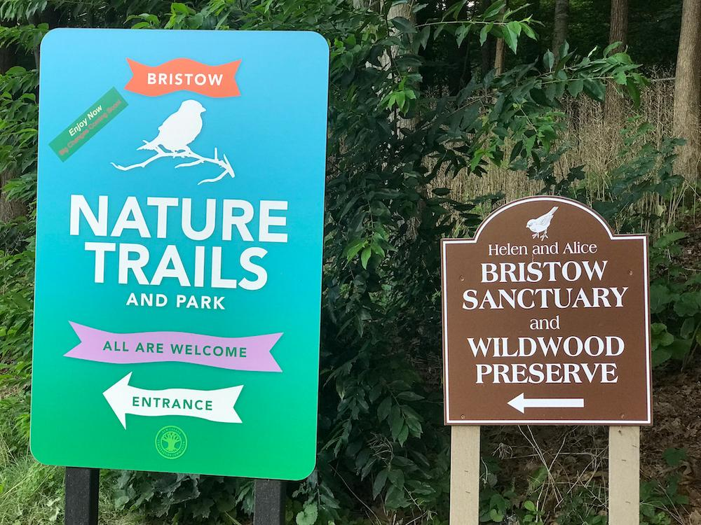 signs for Bristow