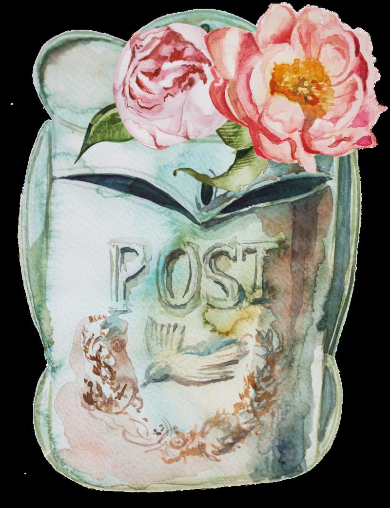 post vintage mail