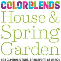 Colorblends House & Spring Garden Logo