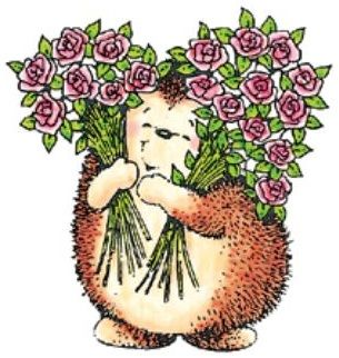 hedgehog bouquets
