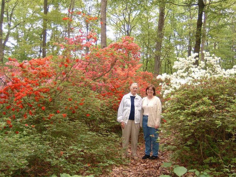 Ann Gillerlain and Susan Bergen